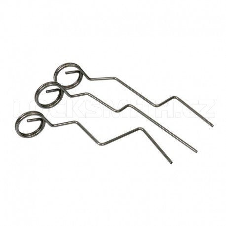 Latch Pick Needle Set 3 piece