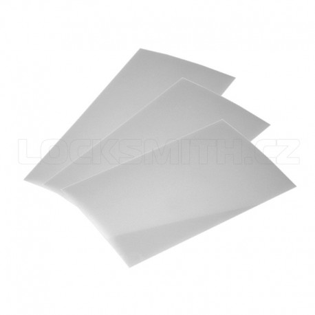 Latch Opening Card Set 6 pieces (3x0.35 & 3x0.50 mm)