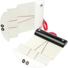 Plastové karty pro dvojitý falc 2 ks