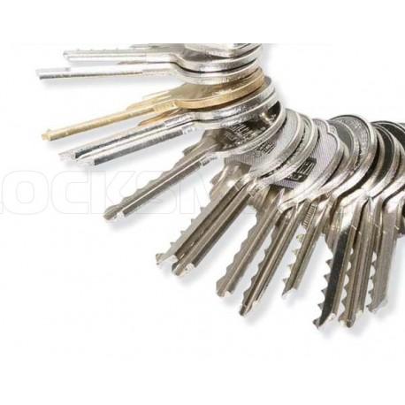 Lock Pick Tools >> Bump Keys - Set 3 CZ (Czech) | Locksmith CZ