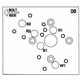 Vrtací šablona LaGard 33E & 99E