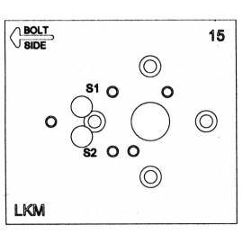 Vrtací šablona LaGard Swingbolt V2, SGZ02 Direct Drive nebo Rotary Bolt
