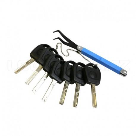 VAG Laser Track Key Set (7 pieces)