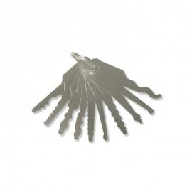 Car Key Jigglers Set (10 pcs)