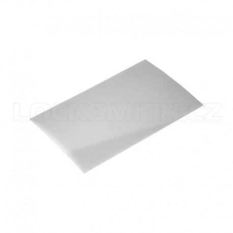 Plastová karta 0,25 mm
