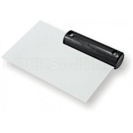 Plastová karta v černé rukojeti - 0,50 mm