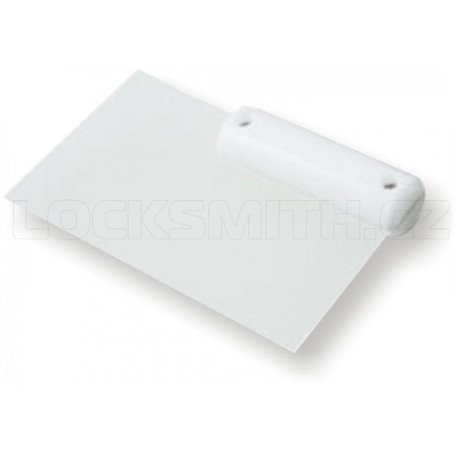 Door Latch Opening Card with White Handle - 0,35 mm