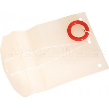 Latch Opening Card for Double-Offset Doors 0,35 mm