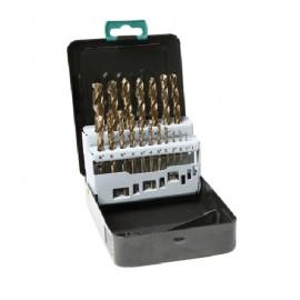 Cobalt-Drill Set 19 pcs. 1-10 mm DIN 338