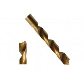 Titanium HSS Spiral Drill 3,0 mm DIN 338