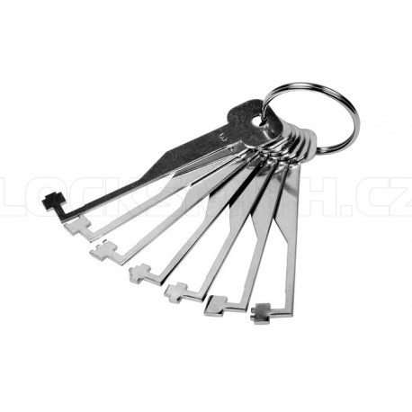 2 Lever Lock Pick Set