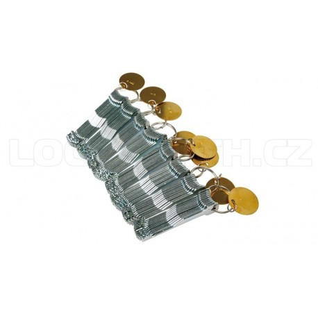 Lever Lock Pick Set - 78 pieces