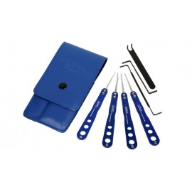 DINO Blue Stainless Pickset - 7 pcs