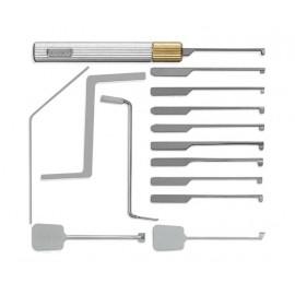Planžety pro důlkové zámky (15 ks)