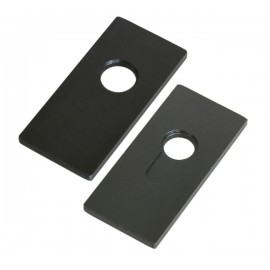 Plug Extractor Plates For Euro  And Round Cylinder Locks - 2 pcs