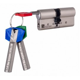 Stealth cylinder lock with 3/5 keys