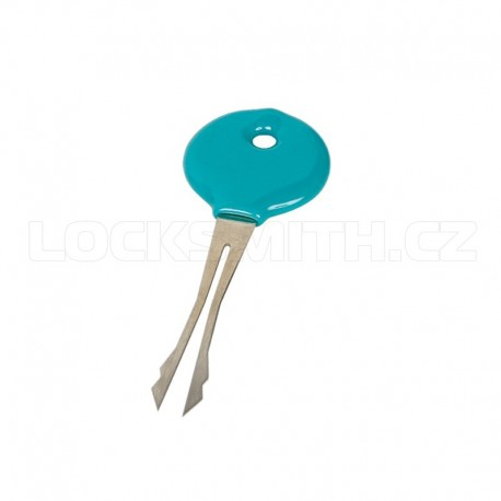 Fork Pick for Vehicle Disc Tumbler Locks