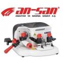 AN-SAN řezací stroje na klíče